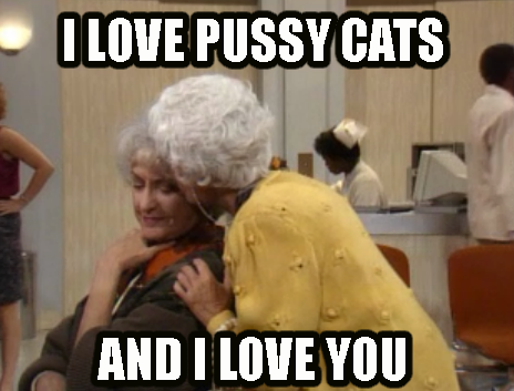 tvland:  Happy Mother's Day Pussy Cats! Enjoy our #GoldenGirlsOnTVLand marathon on starting at 5PM/4C today
