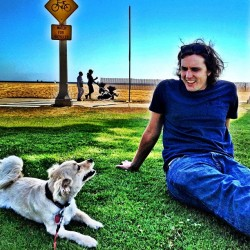 The best of friends @mikewarren333  (at Santa Monica State Beach)