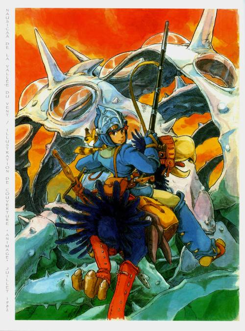 Nausicaä of the Valley of the Wind Hayao Miyazaki July 1982