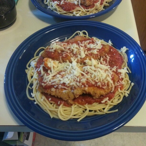 Turkey Parmesan
