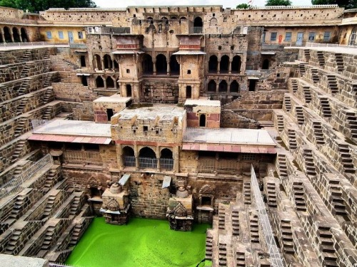 sharanga:  There's no place like…Chand Baori, India. Source: http://www.flickr.com/photos/toyaguerrero/