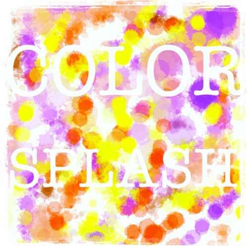 Color Splash #wallpaper #color #actionpaint #paint