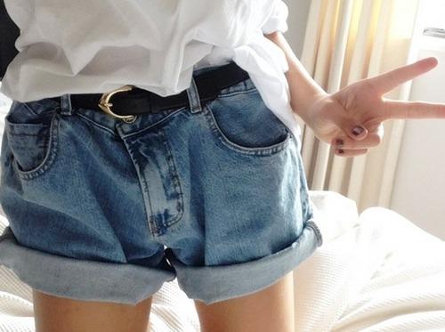 siJuly27 denim shorts shorts high waist