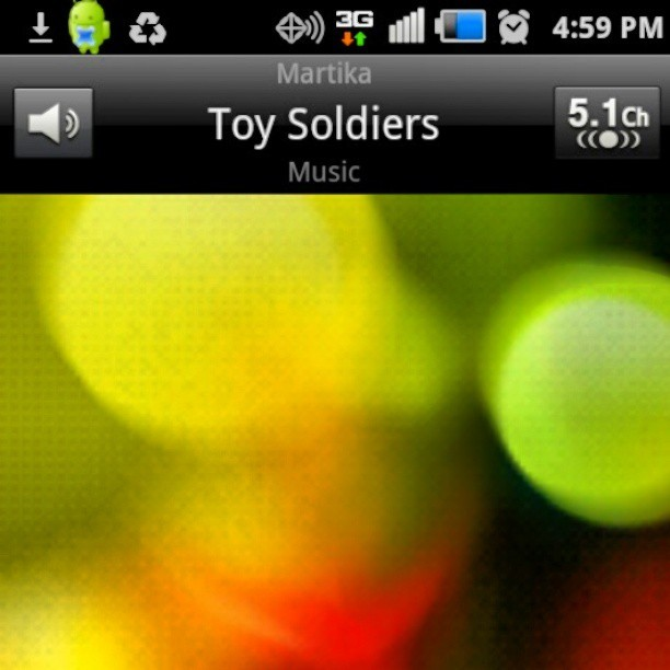#NowPlaying Toy Soldiers - Martika…..for some reason this is giving some major feels right now