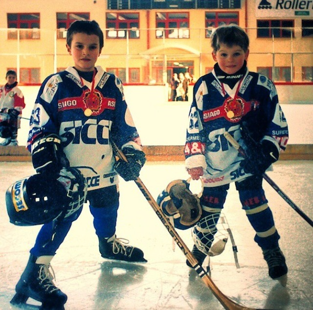justinestandre:  Alex Galchenyuk as a kid