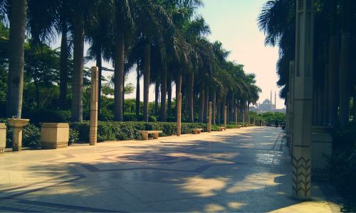 backonamission:  Al-Azhar park, Cairo, Egypt.  I really liked this park, it's a bit of calm away from the busyness of Cairo, a perfect place for a picnic, I'll return there when I'm next in Cairo in sha Allah.