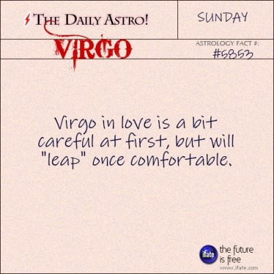 Virgo 5853: Visit The Daily Astro for more Virgo facts.