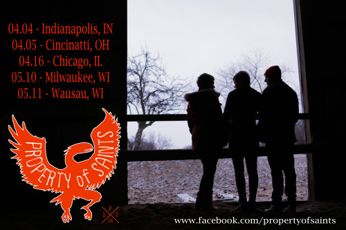 propertyofsaints:  Upcoming shows for the Property of Saints trio!  We are going to hit up Abby's hometown of Indianapolis this Thursday at Melody Inn with Randy King & The New Positions, and The Leisure Kings.  The following night we will be swinging our party train down to Cincinnati to check out Paul's old stompin' grounds.  We will be playing at MayDay Northside with album-releasers Mardou and debuting act Over the Rhine Stone Cowboy.  Stay tuned for updates of our weekend shenanigans!