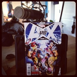 KoPoint Comic Book Show Mic with A v. X