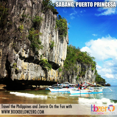 The beautiful sight going to the Underground River at Sabang, Puerto Princesa, Palawan. Book your hotel now at BookBelowZero.com and get discounts on the Underground River Tour!