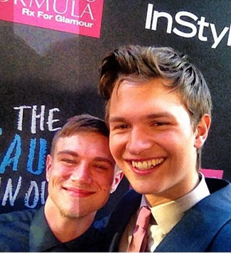 faultinouraugustus:  Ansel Elgort and his double Tanner Boatwright.