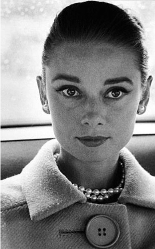 Audrey Hepburn by Richard Avedon, 1959