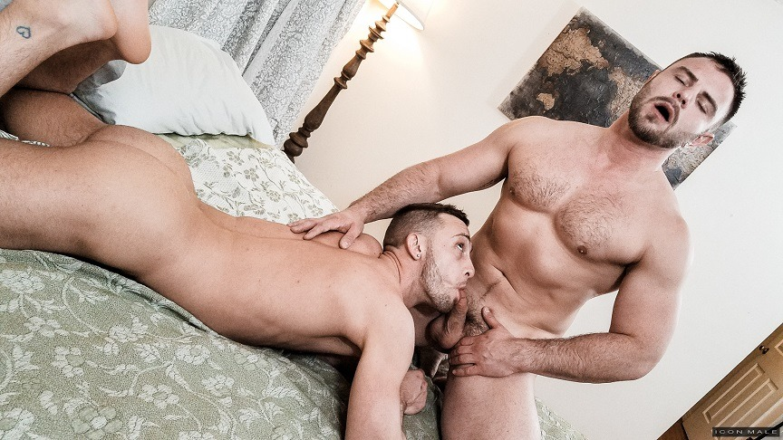 While She's Away: Billie Ramos & Nick Sterling by IconMale Use promocode SAMMYSAVE50 for 50%OFF http://bit.ly/IconMale50