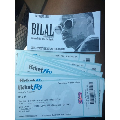 JUNE1st! Come see me open for the legend Bilal at Harlows. Tickets are $20, HMU!