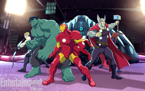 New still from Disney XD's upcoming Avengers Assemble.