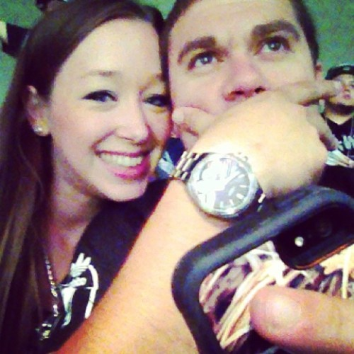 He is clearly enthralled in the game!! @seagojared  (at AT&T Center)