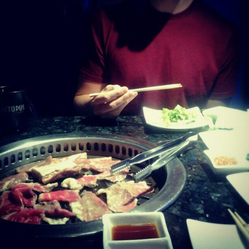 Longing for last night's AYCE #kbbq!