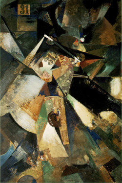 """Merzpicture Thirty-One"", 1920  By: KURT SCHWITTERS…."