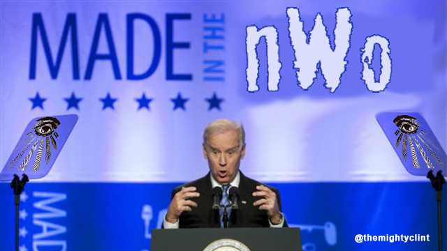 "Conspiracy-Theorist Christmas Comes Early as Biden Uses Term ""New World Order"" via  gawker.com"