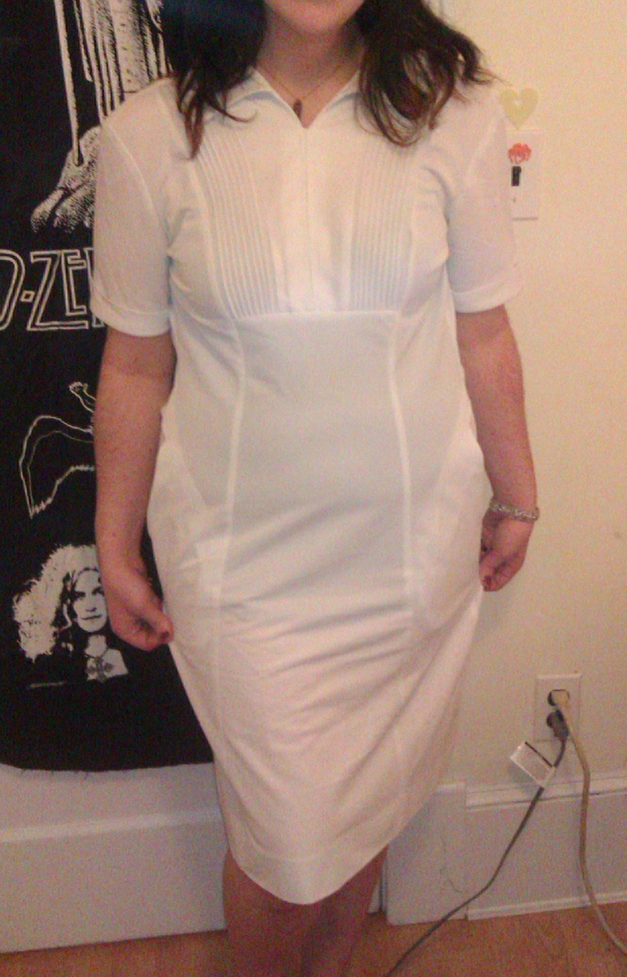 Vintage nurses uniform, size 14