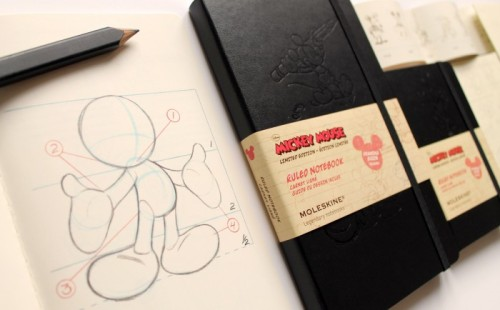 ITEM OF THE DAY: MICKEY MOUSE LIMITED EDITION MOLESKINEby Erin Mallory Long http://bit.ly/14ah4m8