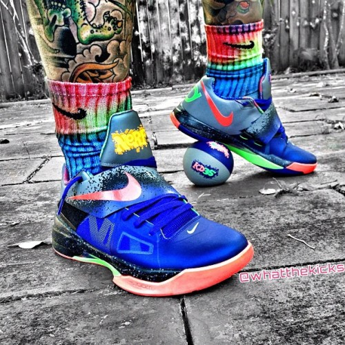 """Nerf"" KD IV's   Photo courtesy of @Whatthekicks"