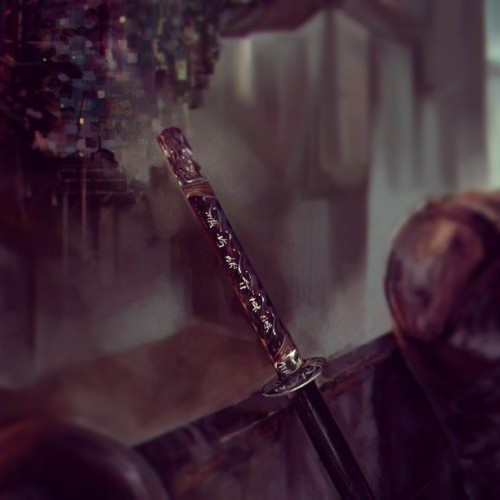 vargasni:  Details #swords #katana #details #draw #digitalpainting #art
