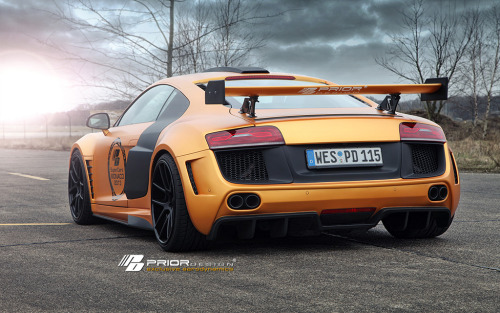 automotivated:  Prior Design PD-GT850 Widebody Aero Kit for the Audi R8 (by Prior Design NA (priordesignusa.com))