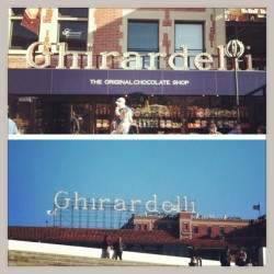at Ghirardelli