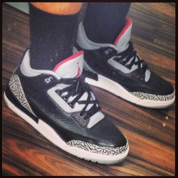 Rocking the #BC3 Today Forst pair Of 3's I Buy