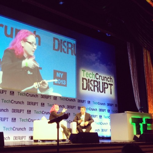 Limor Fried #tcdisrupt