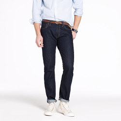 wantering:  J. Crew 484 Jean in Resin Crinkle Wash