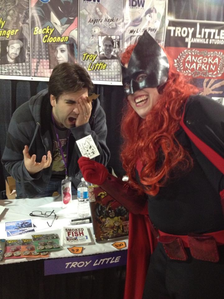 Episode 48The First Annual East Coast Comic Con was more fun then getting a Batarang in the eye!Photo by…View Post