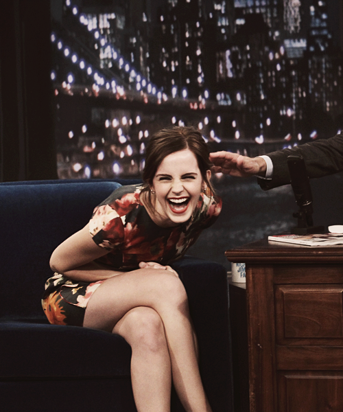 of-laughter-and-forgetting:  Emma Watson, everyone.