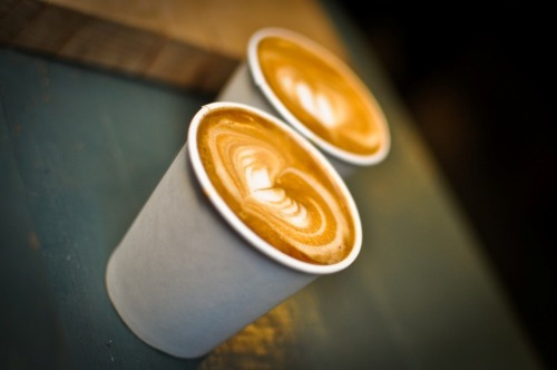 Two awesome cortados from Satans Coffee Corner Barcelona