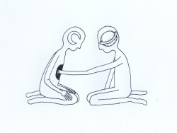 falenir:  sleepyheadillustration:  …until we know each others' insides completely.  can i have this tattooed?