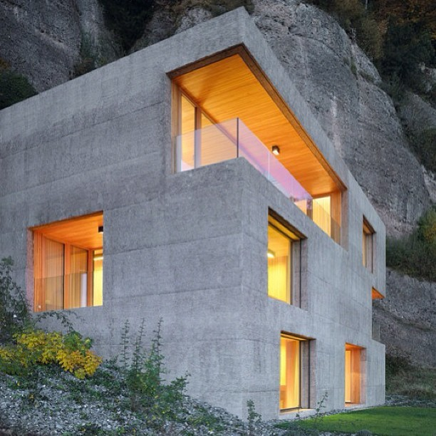 architonicag:  Architecture on Architonic.com: Huse holiday house, Vitznau by Lischer Partner Architekten Planer http://ow.ly/i5Mkk