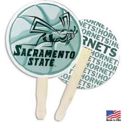 Promotional Circle Fans Sports, Camping, Colleges and More! Customize your fan for all your Summer Events.