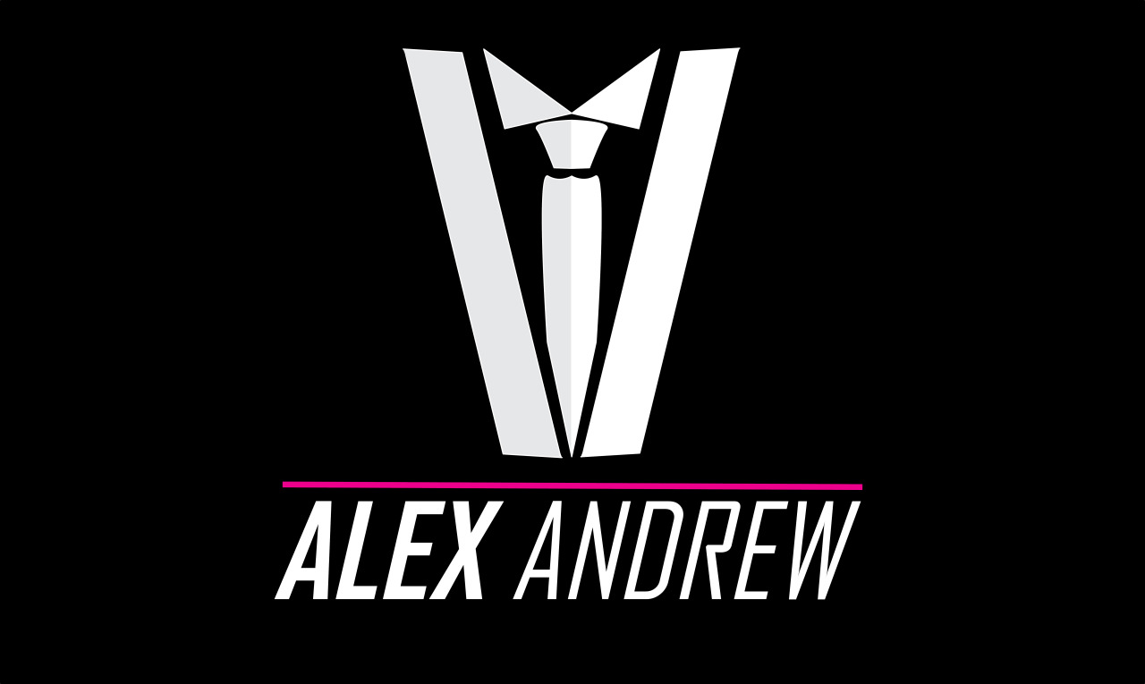 Organisation: Alex Andrew Date: May 2013 Background: Logo design for Alex Andrew Clothing Label to be launched in early 2014. Logo will be used on clothing tags, promotional advertising and website design.  ———————————————————————————————————
