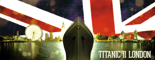 I will be sailing into central London tomorrow along with the Titanic II Launch! Ask me if I am excited yet?