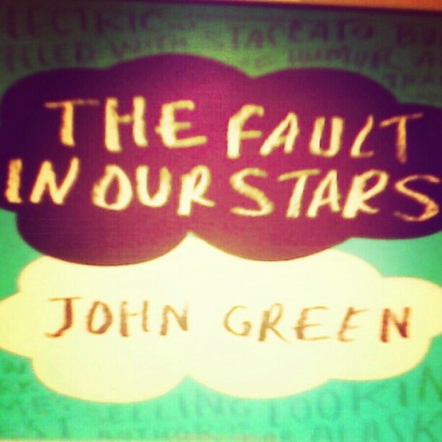 Got bored with this book but I'm giving it another shot #JohnGreen #YALit #goodreads #novel