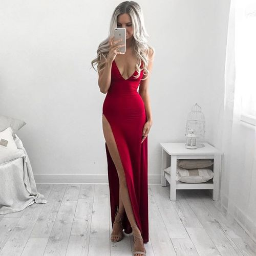 red red dress long dresses elegant dress elegant outfit elegant elegance sandals heels outfit fashion fashion photography mirror mirror pic mirror photo look in the mirror mirror selfies kirsty fleming