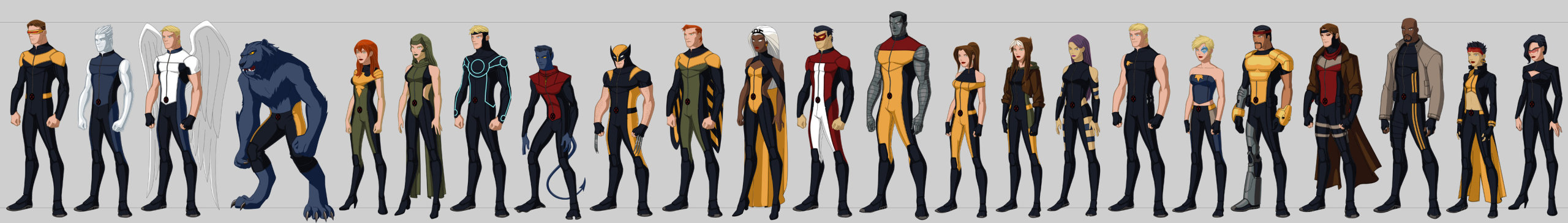 professorxisajerk:  X-Men redesigns by Scott Ngo. From Cyclops to Sage.