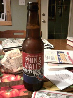 Southern Tier Brewing Phin & Matt's Extraordinary Ale @ Mom and Dad's in Hurley, SD