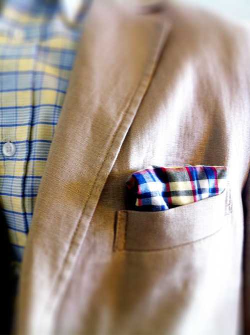 Californian sport coat Saturdays.