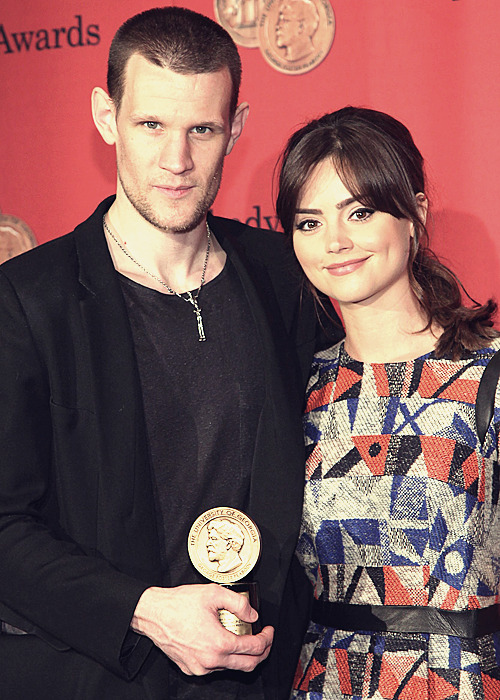 Matt Smith  and Jenna Louise Coleman attends the 72nd Annual George Foster Peabody Awards