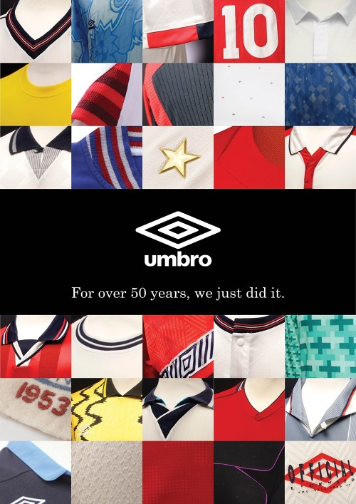 """For over 50 years, we just did it.""Umbro says goodbye to the English Team with their heads held high."