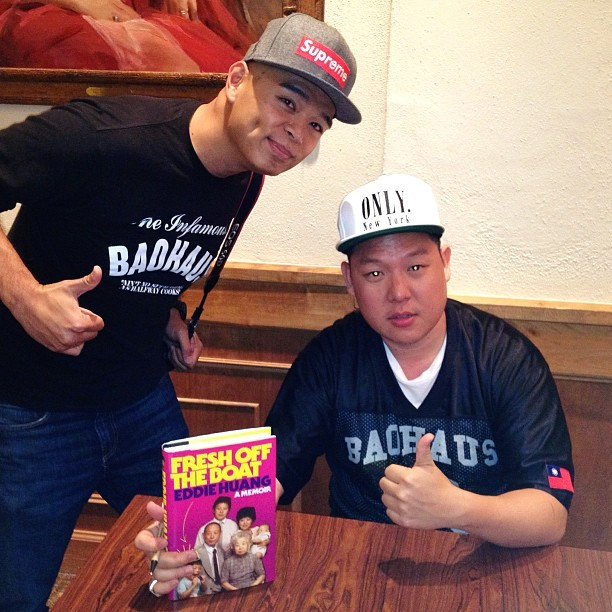 "This dude is the real deal #authentic @MrEddieHuang @BaohausNYC Get the book! ""Fresh Off the Boat"" #RollinsCollege #WinterPark #Orlando  (at Rollins College)"