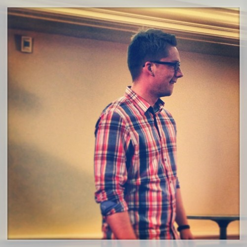 @justinwise has all wanting to juice it up at #scorre13. / on Instagram http://bit.ly/12eKVdA