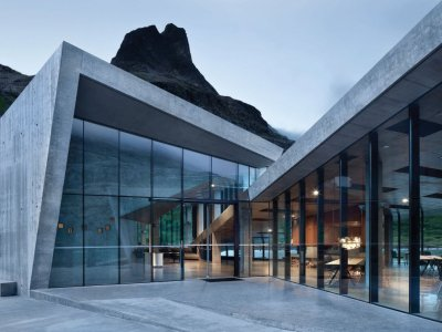 Interior National Tourist RouteReiulf Ramstad Architects Trollstigen, Norway